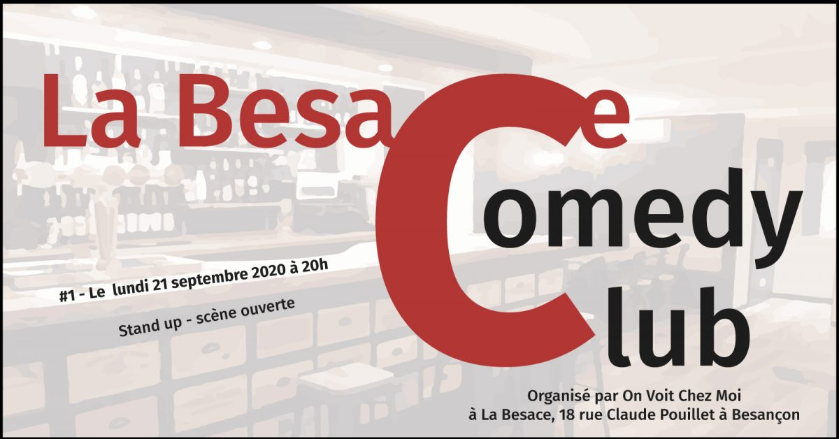 Besace Comedy Club 21/09/2020